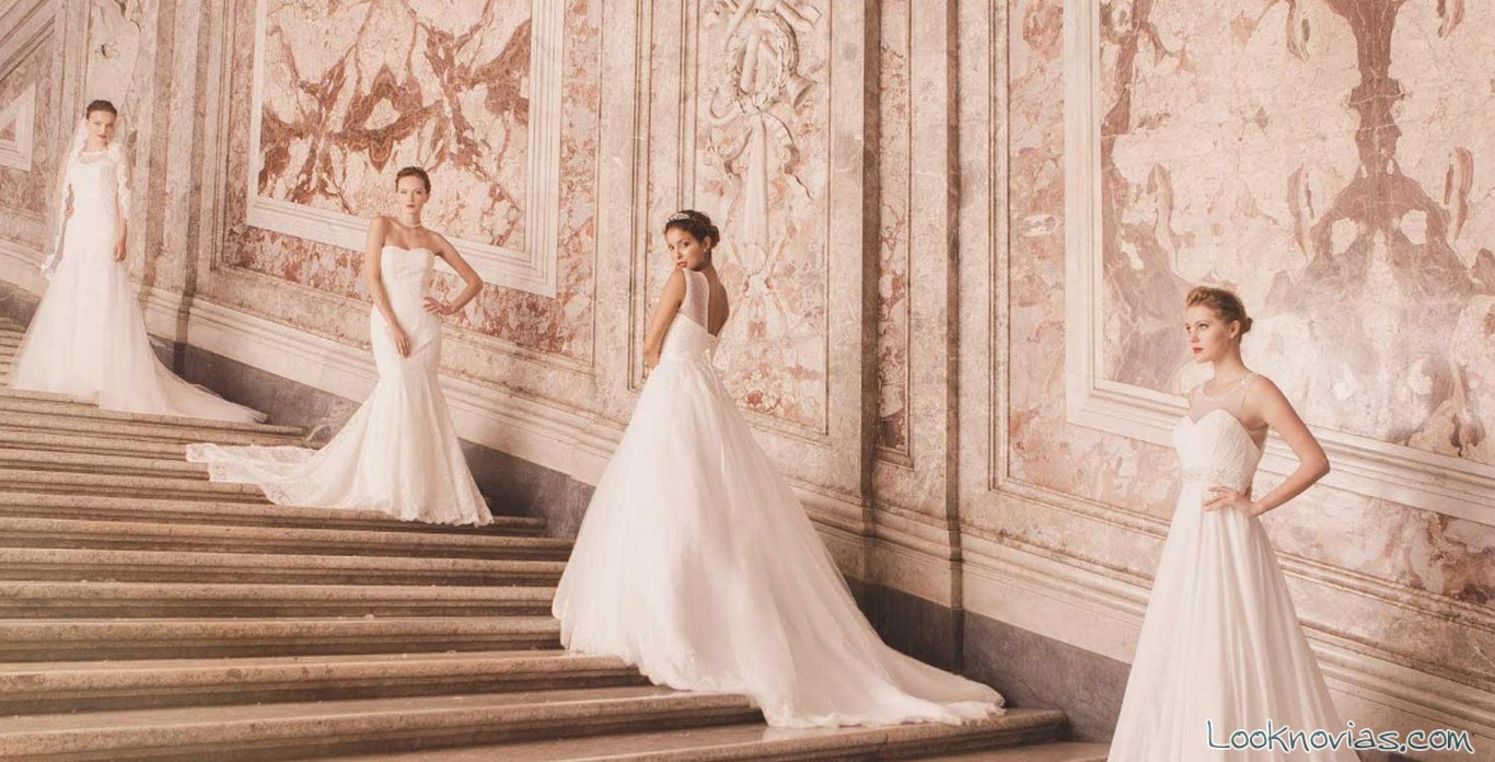 4 vestidos impero sposa