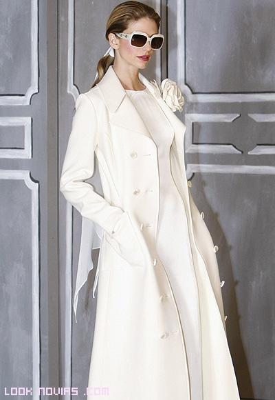 abrigos con estilo  para novias