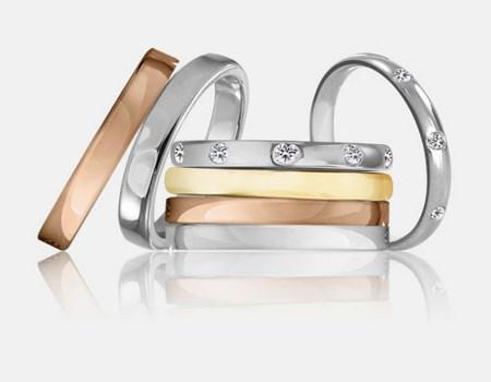 Alianzas de oro para bodas