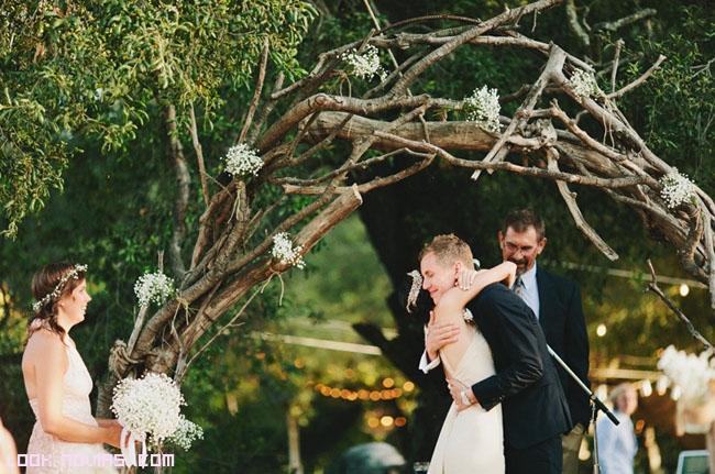 ramas para decorar en bodas