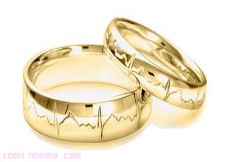 Alianzas originales de boda
