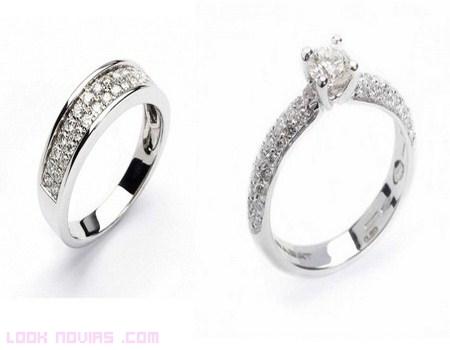 anillos para novios