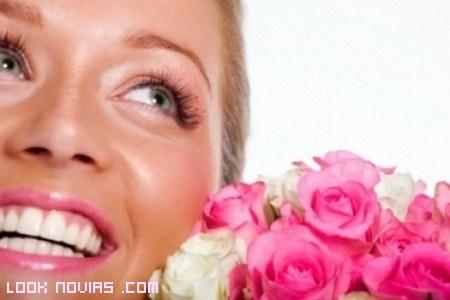 sonrisa perfecta para las novias