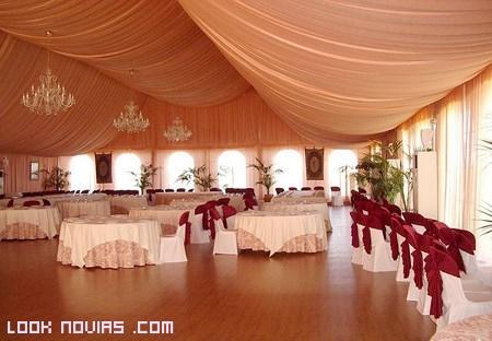 Carpas para bodas elegantes