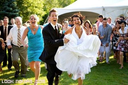 invitados que participan en bodas