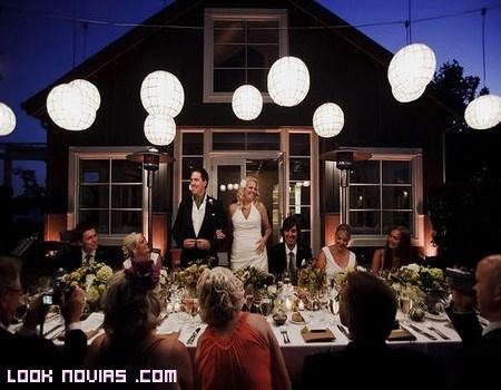 Banquetes por la noche