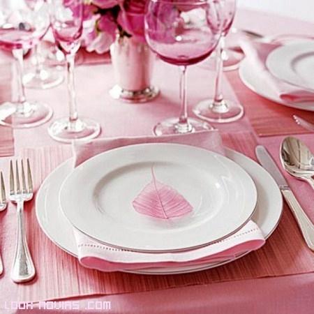 flores para mesas de boda
