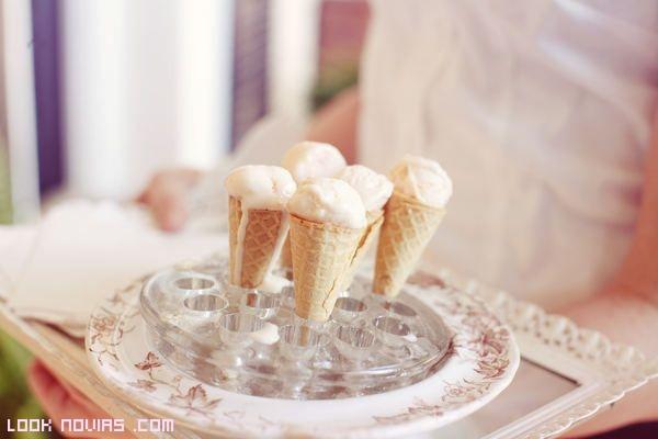 helados de sabores en bodas