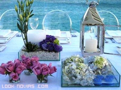 cajas para mesas de boda