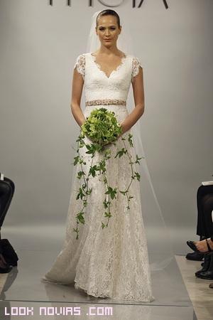 vestidos de novia con cinturón
