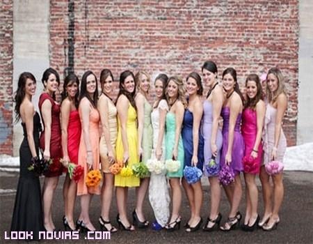 Colores para damas de honor