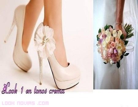 tacones para novia