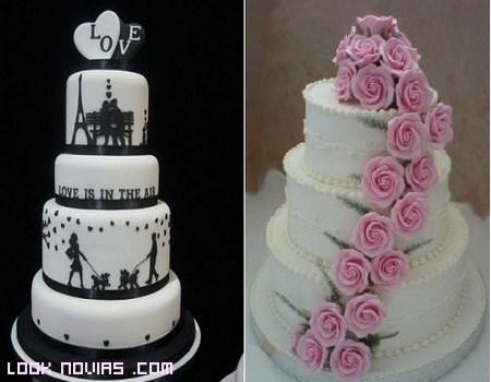 tartas originales para boda