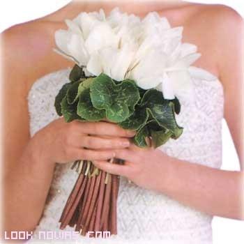 ramos de novia en color blanco