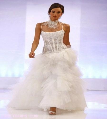vestidos de novia con corpiño