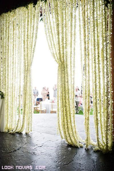 cortinas originales para bodas