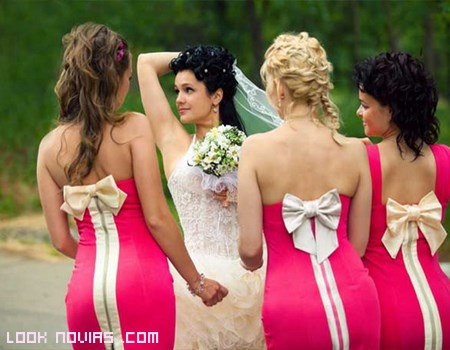 vestidos de damas románticos