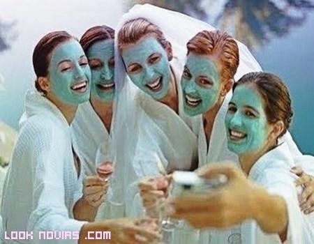 Fiestas de belleza para novias