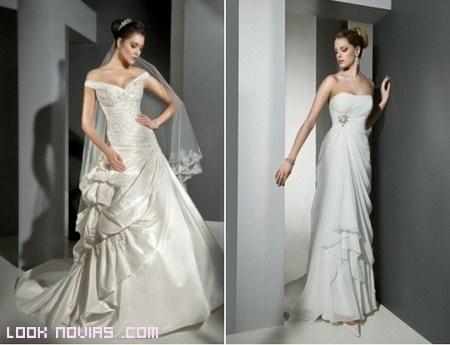 Vestidos muy femeninos de novia