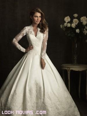 corpiños blancos para novias