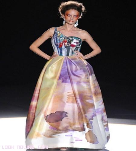 vestidos contemporáneos