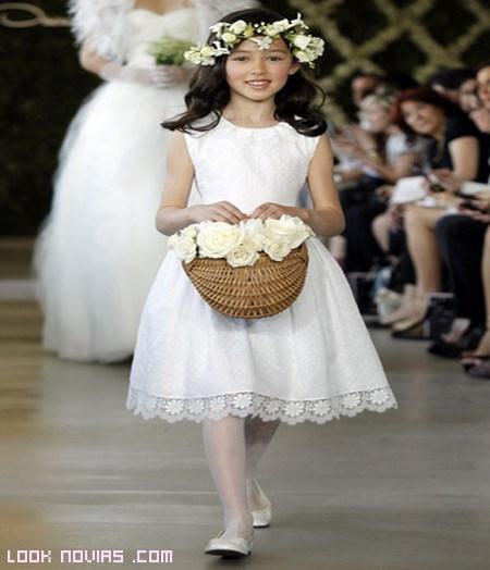 faldas con encajes para novias