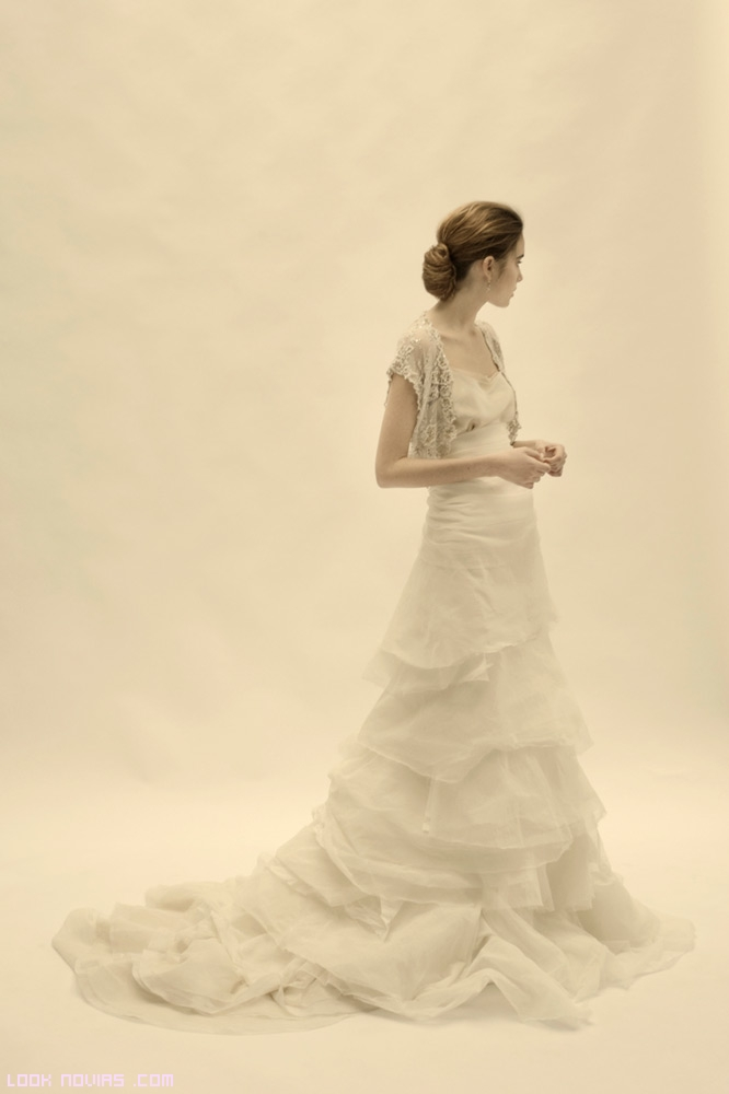 Volantes para faldas de novia
