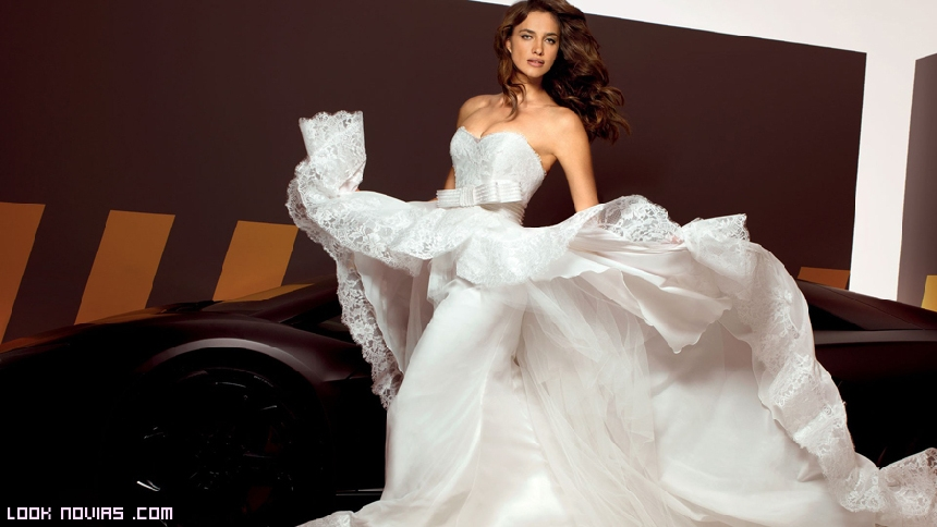 faldas dobles para novias