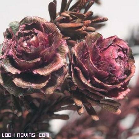 cuadros con flores secas