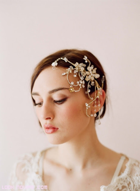 tocados laterales para novias