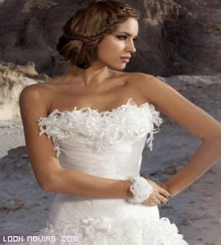Modelos vestidas de novia