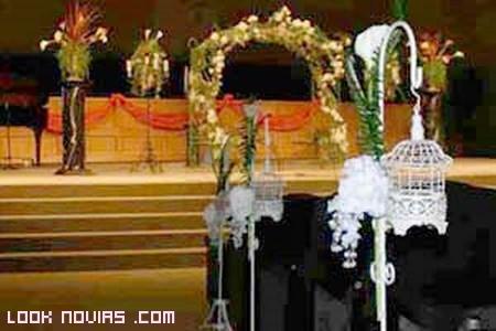 ideas para decorar el pasillo al altar