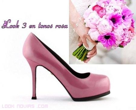 novias en color rosa