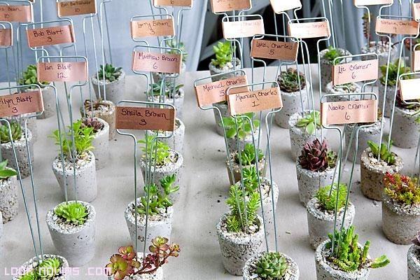 mesas de boda originales