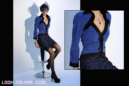 Madrina corto azul