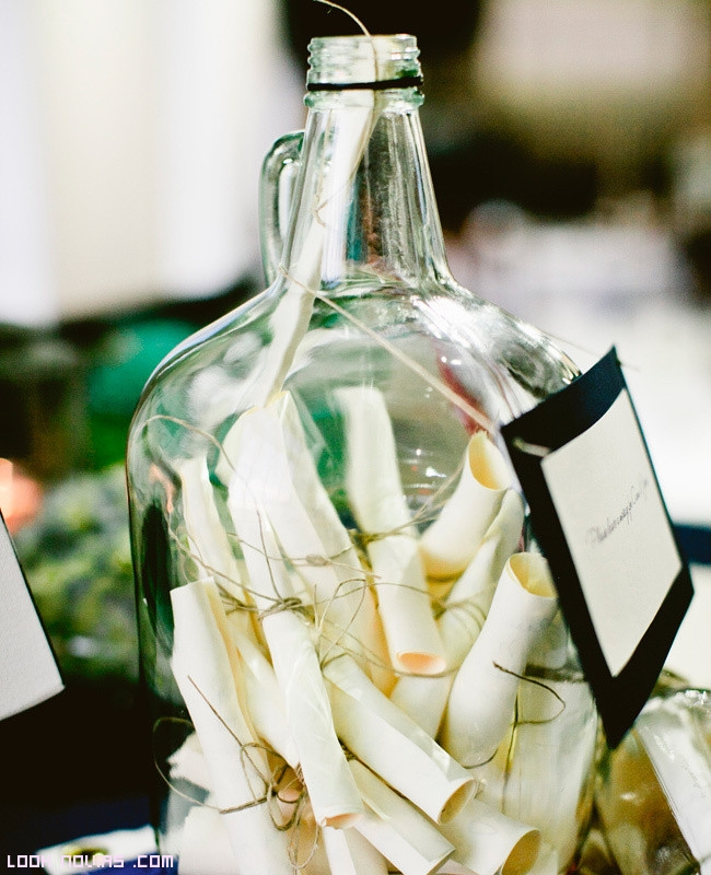 Mensajes románticos en botella