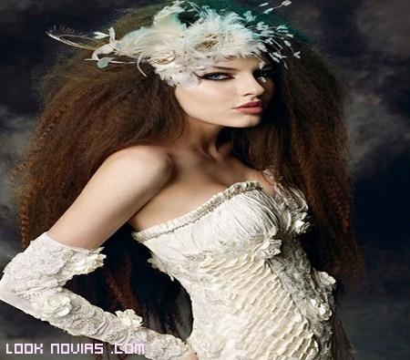 vestido de novias recargados