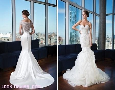 vestidos de novia color blanco