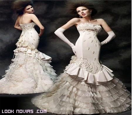 Colección vestidos de novia 2012