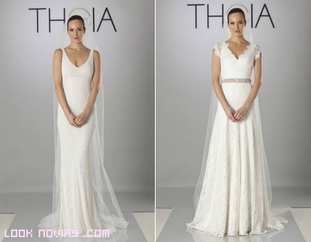 Novias de blanco Theia
