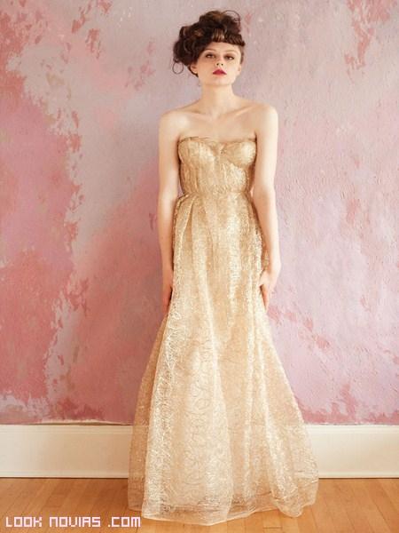 vestidos largos de novia