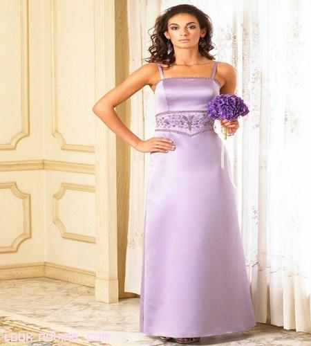 vestidos de novia en satén