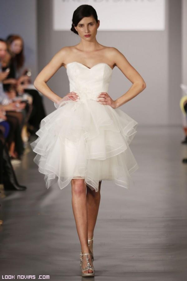 faldas con vuelo para novias