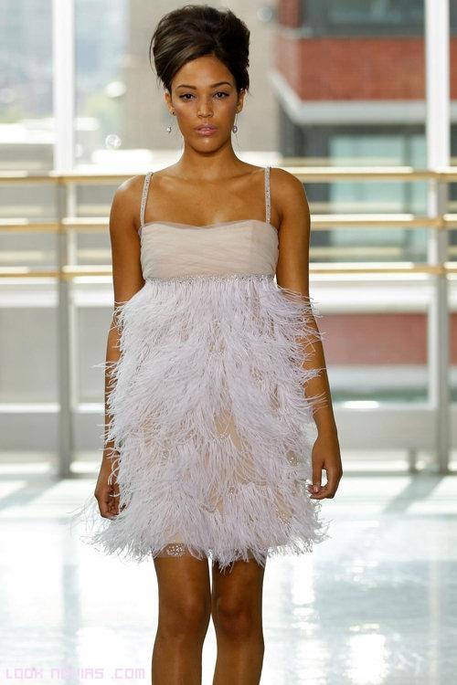 vestidos cabaret para novias