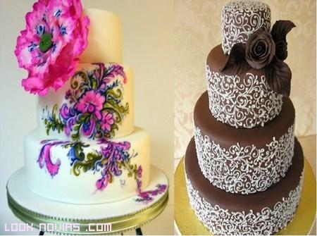 Tartas para bodas con estilo