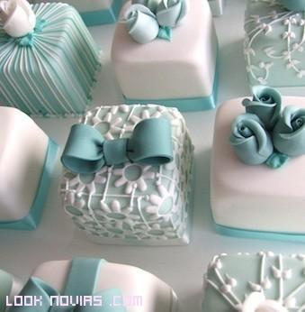Pasteles decorados para bodas