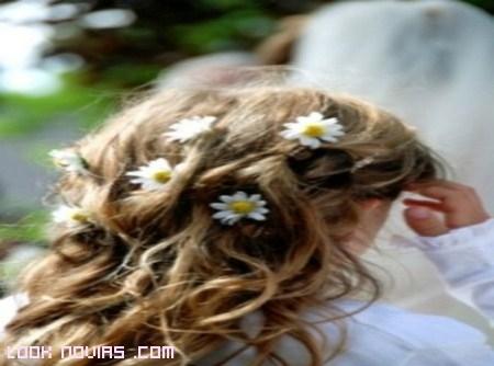 Peinados con bucles para niñas