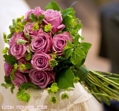 Rosas para novias románticas