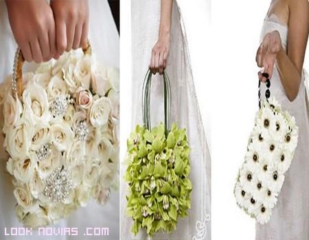 diferentes bolsos para novias