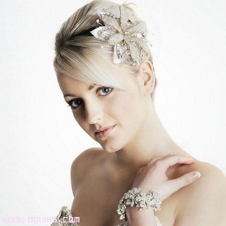 ideas para peinados de novia